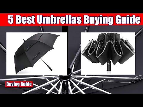 Umbrellas: Top 5 Best Umbrellas in 2020 (Buying Guide)