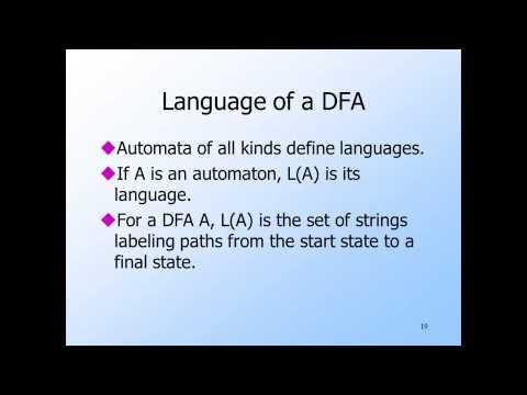Video 3 | Deterministic finite automata 36 min