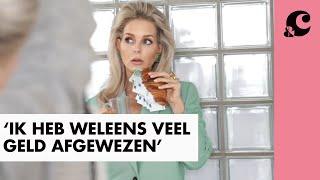 Chantal Janzen heeft veel geld afgewezen omdat ze geen reclame wilde maken voor bepaald merk