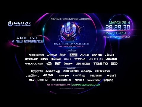 ULTRA MIAMI 2014  Phase One Teaser