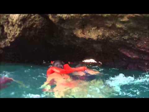 Entrando a las Islas Marietas