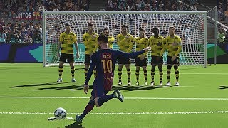 PES 2018 - Free Kick Goals Compilation #1 HD 60FPS