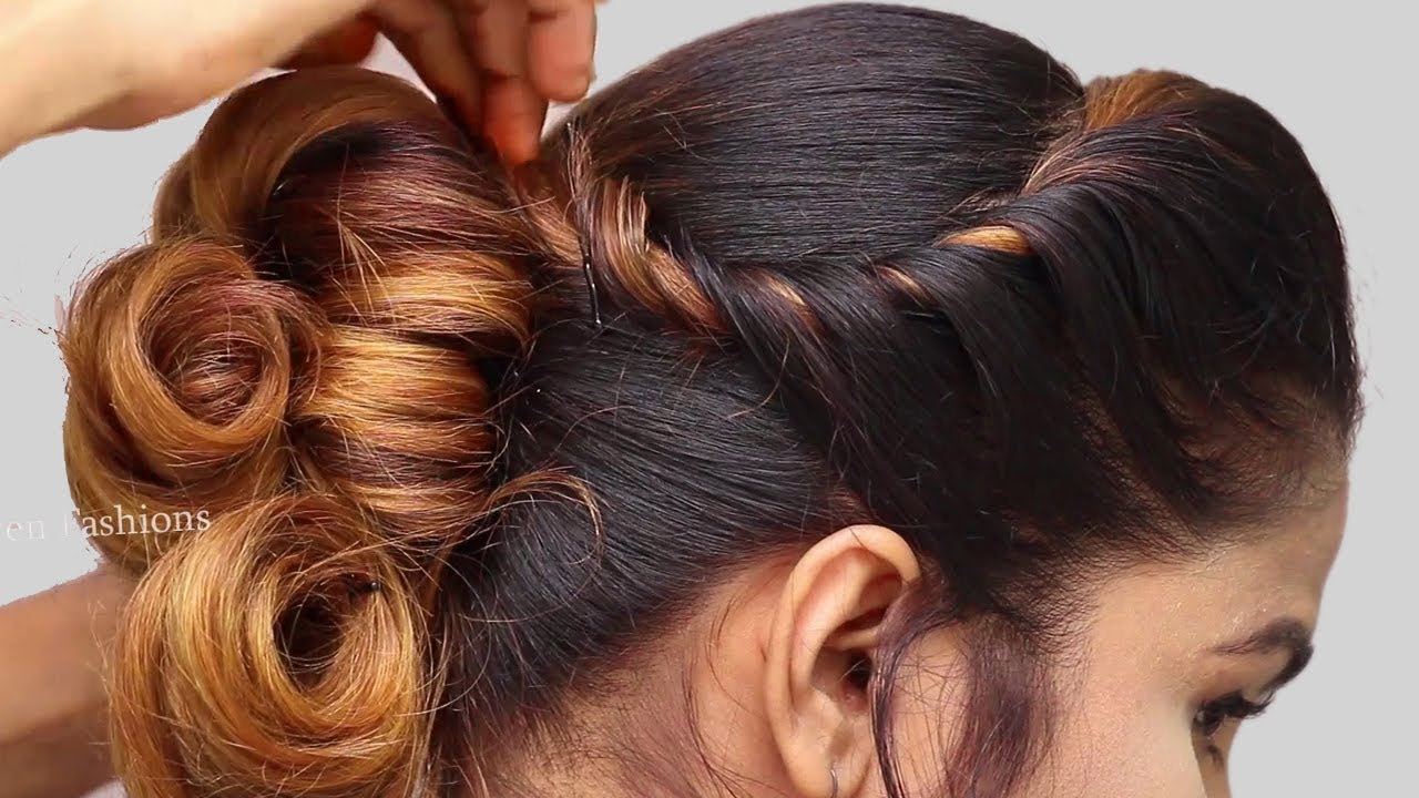 Latest Party Hairstyle 2019 For Girls