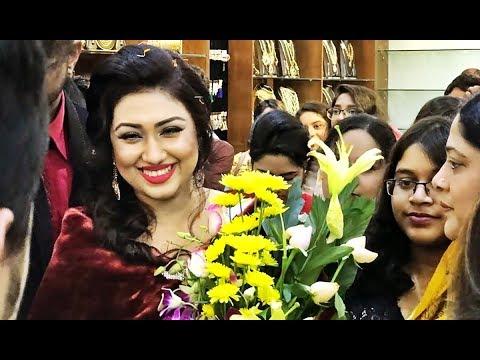 Bangladeshi Celebrities in Mahjabin Boutique Showroom Opening | Opu Biswas
