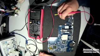 видео Устранение короткого замыкания в ноутбуке  Как подобрать аналог транзистора