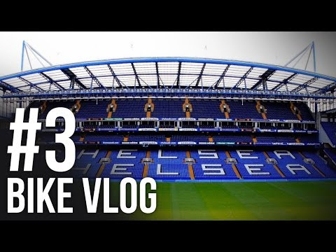 BIKE VLOG #3 - CHELSEA VS ARSENAL AWAY DAY! (Trip to Stamford Bridge)