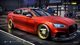 Need for Speed Heat - Audi S5 Sportback 2017 - Customize | Tuning Car (PC HD) [1080p60FPS]