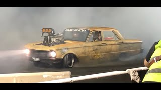 Warbird DESTROYS Tires at Cleetus and Cars