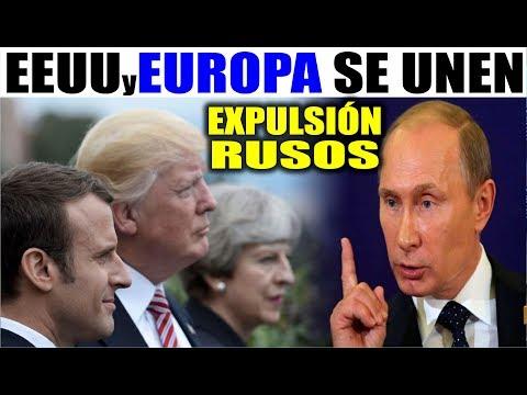 Ultimas noticias, EEUU Y EUROPA EXPULSAN A RUSOS DIPLOMATICOS 26/03/2017