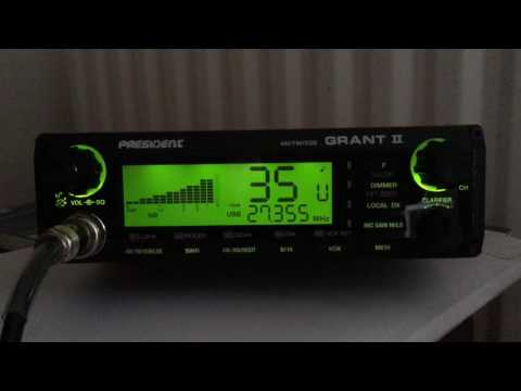 CB Radio; 11 meters skip with a radio net from Denmark 28/05/2017