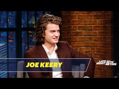 Download Youtube: Joe Keery Talks About His Famous Hair