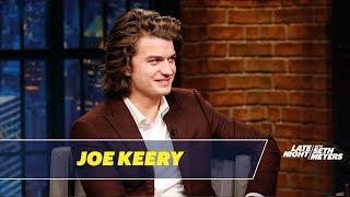 Download Joe Keery Talks About His Famous Hair Mp3 and Videos