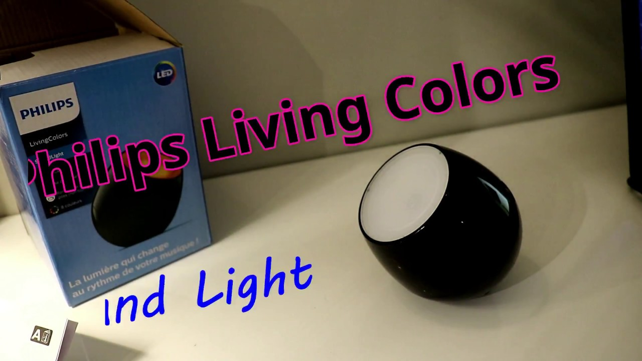 Philips Livingcolors Soundlight Youtube