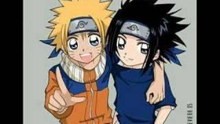 Sasuke and Naruto You've got a Friend in Me