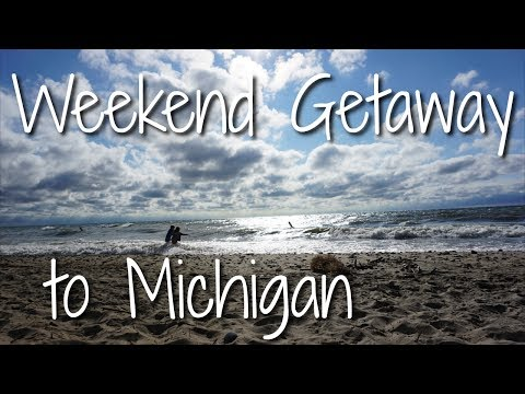 Weekend Getaway to Michigan// Lake Michigan, Pick Your Own Blueberries, and a Retro Boat Ride