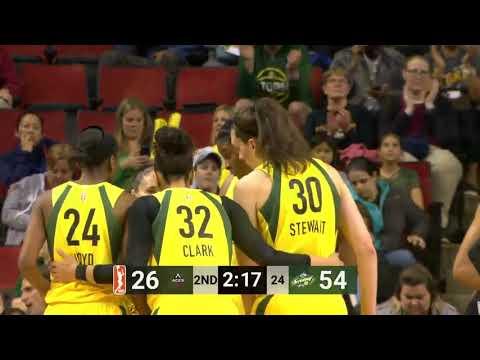 Evolution of Breanna Stewart WNBA