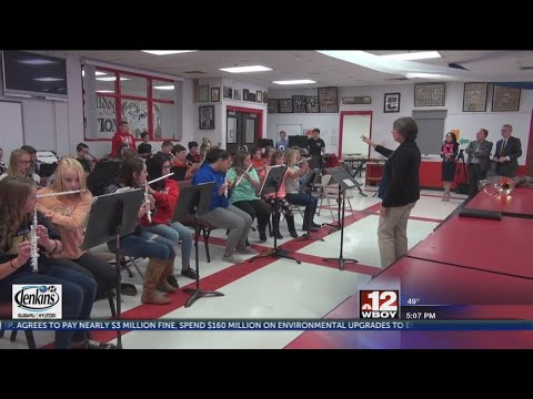 All 55 counties received grant funding for music education programs