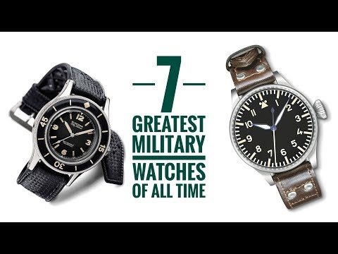 7 Greatest Military Watches Of All Time | Armand The Watch Guy