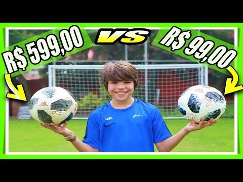 BOLA R$ 599,00 vs BOLA R$ 99,00: QUAL A DIFERENÇA ?