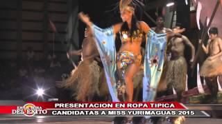 CERTAMEN MISS YURIMAGUAS 2015