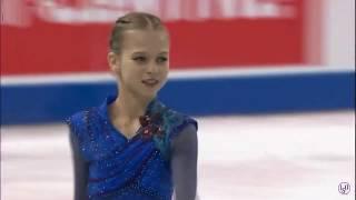 アレクサンドラ・トゥルソワ スケートカナダ FS