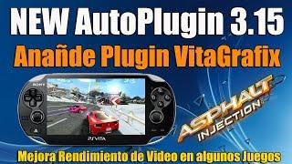 Autoplugin 3.15 Añade VitaGrafix New Version - Test de Video