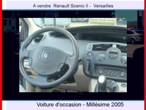 Achat Vente une Renault Scenic II  Versailles