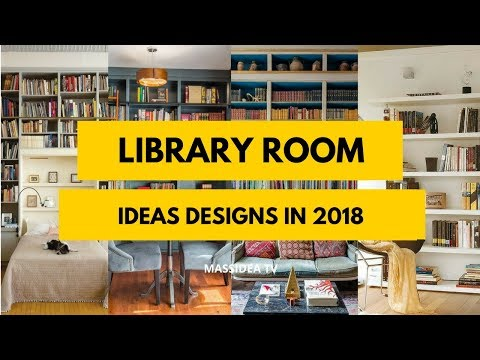 45+ Awesome Library Room Ideas Designs in 2018