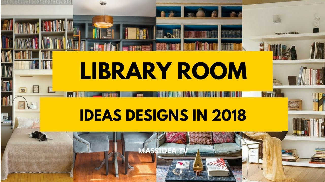 45 awesome library room ideas for small space 2017 youtube - Room design for small space plan ...