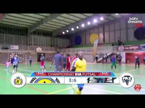 Kia Futsal Guadeloupe : La Ginga VS Fax .Diffusion direct Karudreams