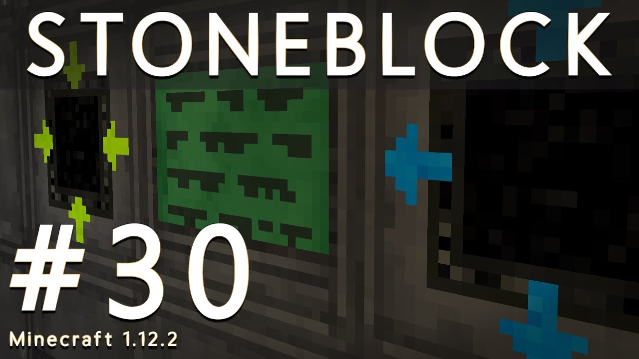 Big Reactors - StoneBlock (Modded Minecraft 1 12 2) #30