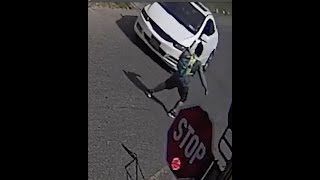 CAUGHT ON CAMERA: Bad drivers putting schoolkids at risk