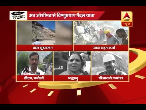 Badrinath Yatra by foot resumes today after landslide on Rishikesh-Badrinath National High