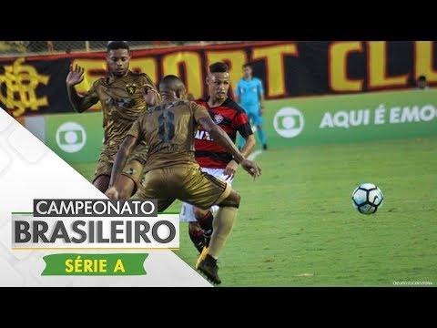 Melhores momentos - Vitória 1 x 2 Sport - Campeonato Brasileiro (12/10/2017)