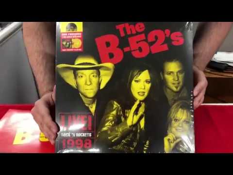 Record Store Day 2018 RSD B-52'S - Rock N' Rockets, Live Unboxing