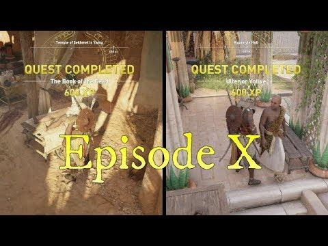 Assassin's Creed Origins Ulterior Votive Ep. X