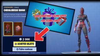 FORTNITE: THE CADEAUX ARE FINALLY OF RETOUR. How to offer gifts on fortnite / GIFT returns