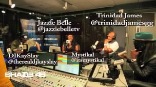 Trinidad James and Mystikal Visits StreetSweeper Radio with DJ Kayslay
