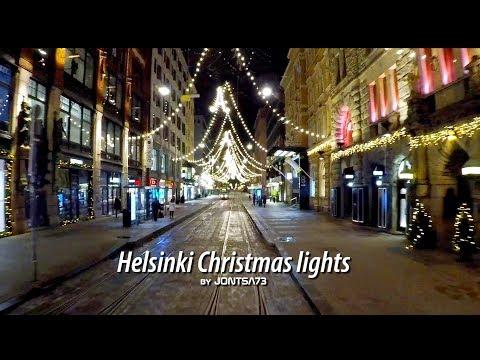 Helsinki City Center at Christmas Time