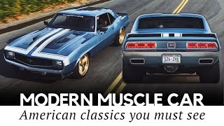 10 American Muscle Cars So Good You Would Pick Them Over New Supercars