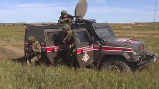 Действия подразделений военной полиции на маневрах «Восток-2018»
