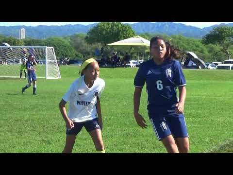 Presidents Day Cup 2018 Whitfield SC 06G Gold vs FA Maui 2006G white