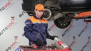 Wie SEAT EXEO Bremssattel Reparatursatz auswechseln - Tutorial