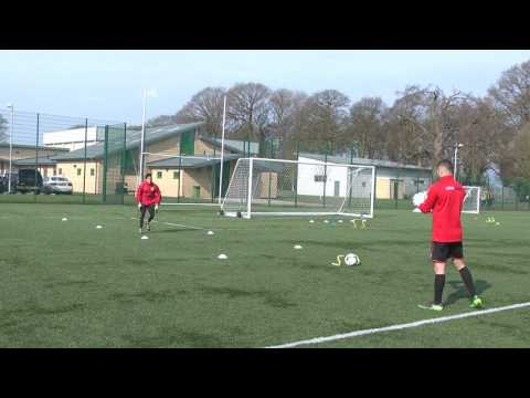 Goalkeeper Field Transition - Reaction Speed, Agility & Power