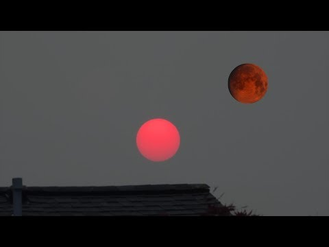 Red sun - Red moon