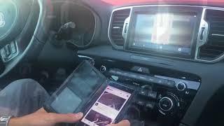 Mirroring smartphone Android su navigatore My16 New Kia Sportage