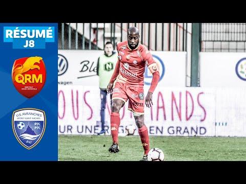 J8   Quevilly Rouen Métropole - US Avranches MSM (0-1), le résumé   National FFF 2019-2020