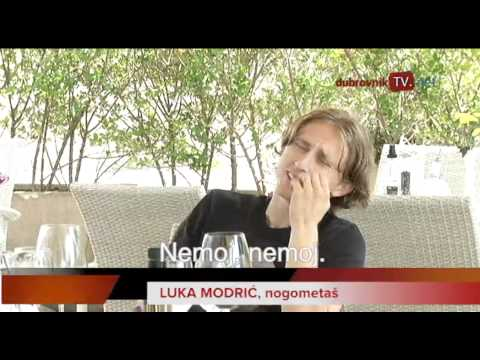 dubrovniktv.net - Luka Modrić in Cavtat, Dubrovnik (Croatia)