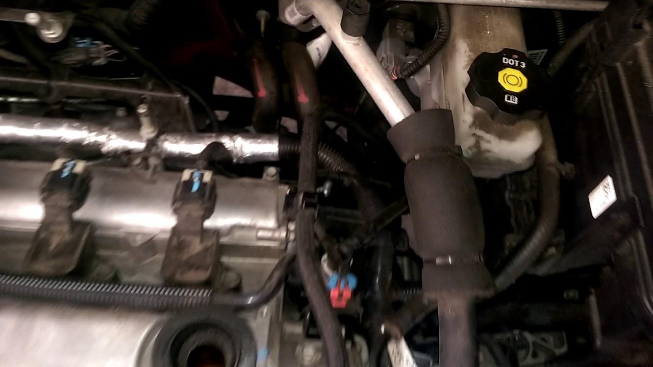 small resolution of gmc terrain camshaft position sensor a b