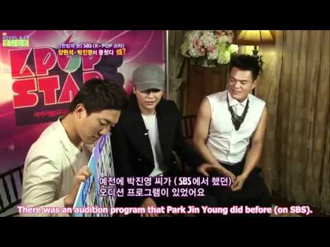 110907 YG and JYP Interview on One Night of TV Entertainment [ENG]